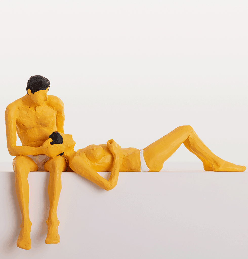 W.A.GREEN | SELETTI LOVE IS A VERB SCULPTURES BY TATIANA BRODATCH