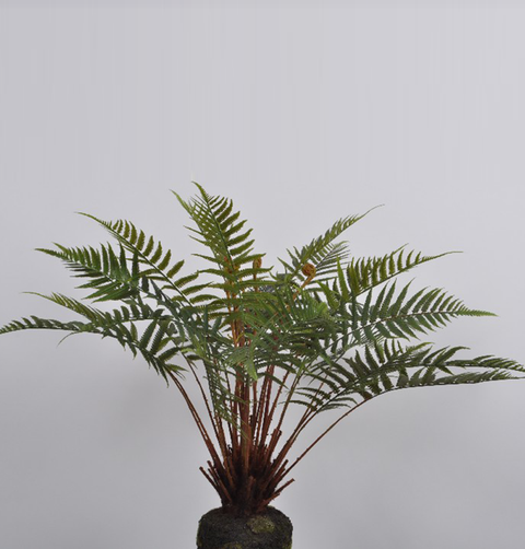 FAUX LARGE FERN PLANT