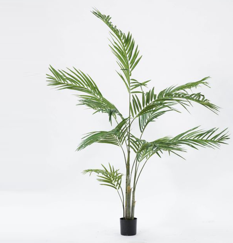 FAUX TALL PALM PLANT
