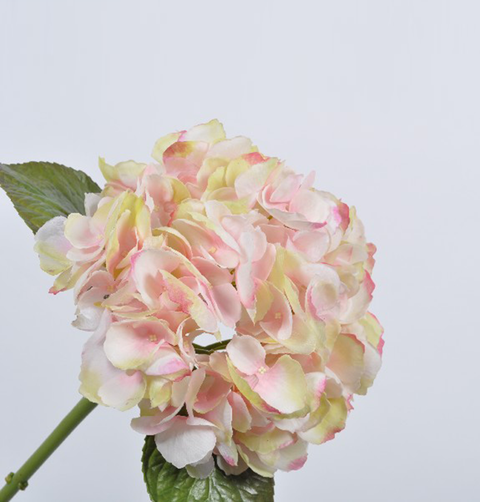 LUXURY FEEL REAL PINK HYDRANGEA STEM