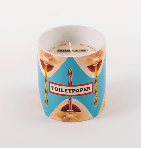 TOILET PAPER DRILL SCENTED CANDLE