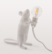 WHITE MOUSE TABLE LAMP LIGHT