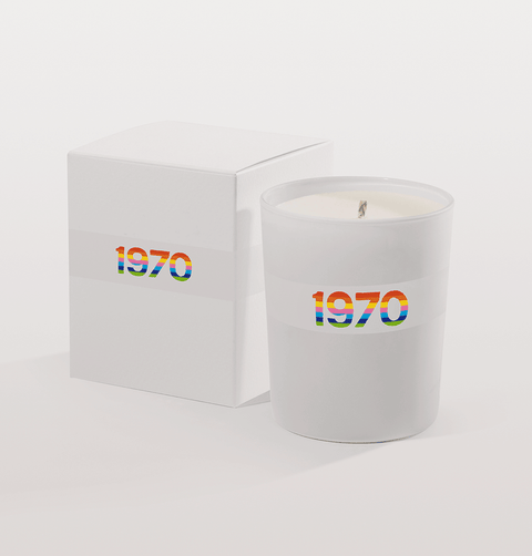 BELLA FREUD 1970 RAINBOW CANDLE