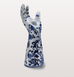Pols Potten hands up candle stick side view