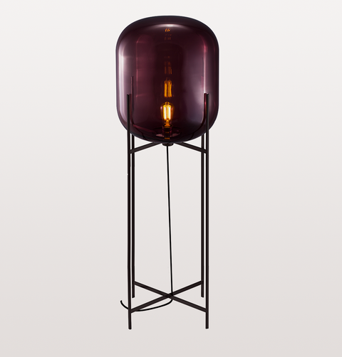 ODA BIG AUBERGINE FLOOR LAMP