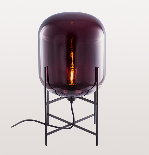 ODA MEDIUM AUBERGINE FLOOR LAMP by PULPO