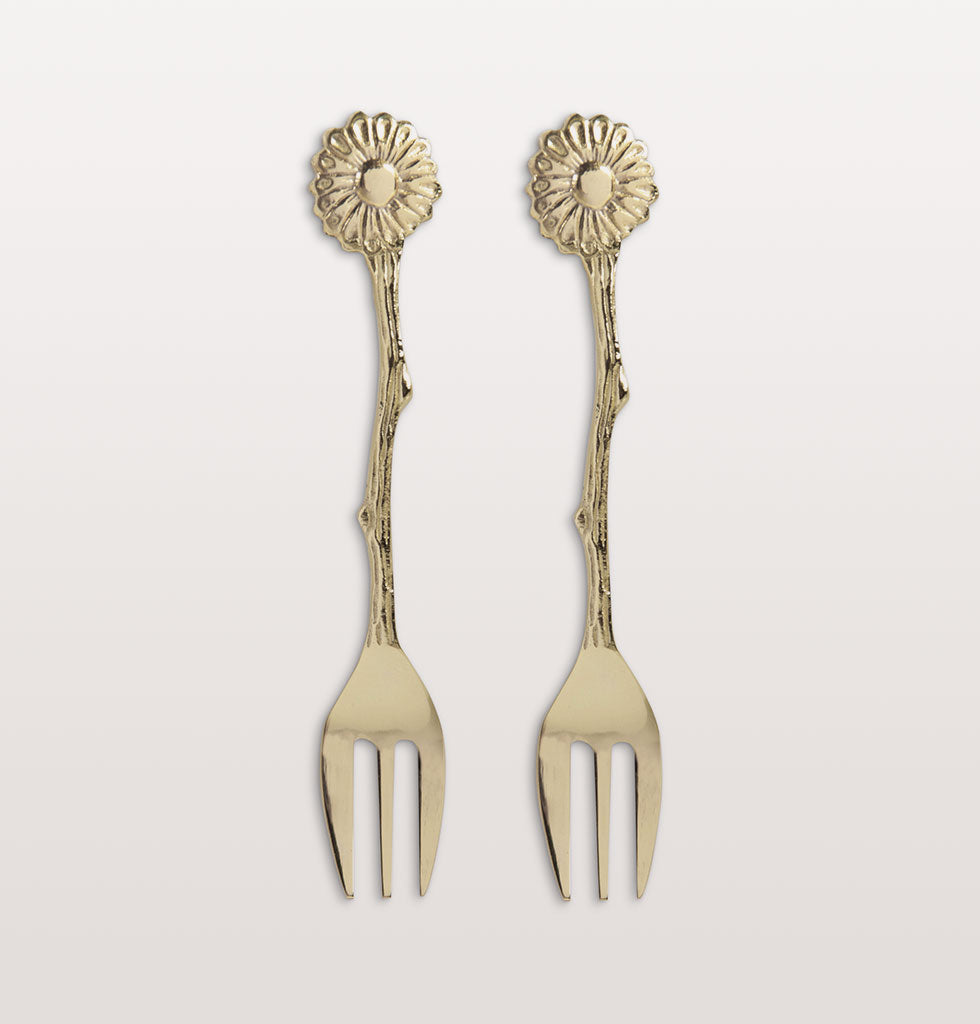 W.A.GREEN | &K | Daisy gold fork set of 2. £11 wagreen.co.uk
