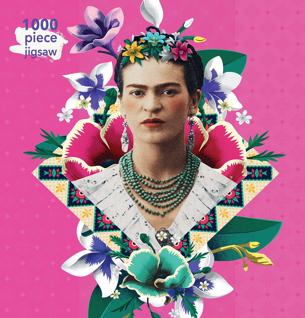 Frida Kahlo contemporary 1000 piece jigsaw puzzle