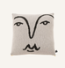 ALICE DANSEY-WRIGHT FACE CUSHION BLACK