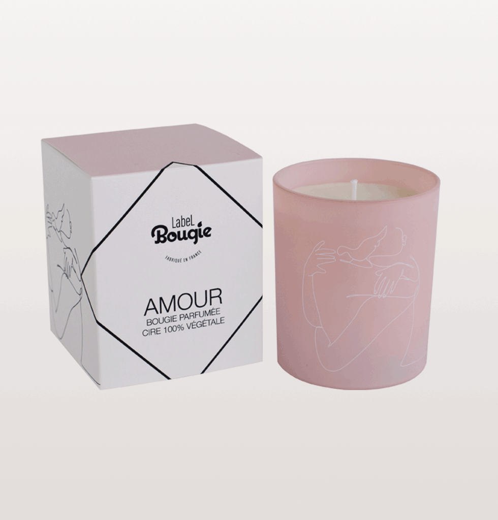 AMOUR LUXURY JASMINE SCENTED CANDLE by Label Bougie. £40 wagreen.co.uk