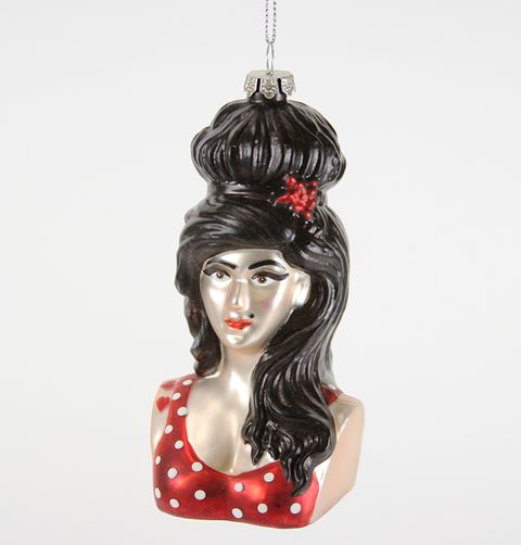 AMY WINEHOUSE CHRISTMAS DECORATION
