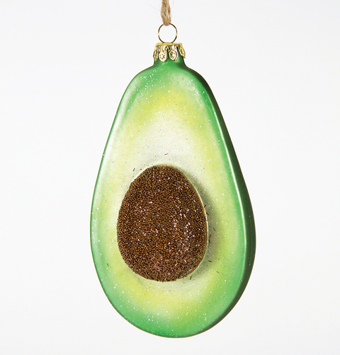 AVOCADO CHRISTMAS DECORATION
