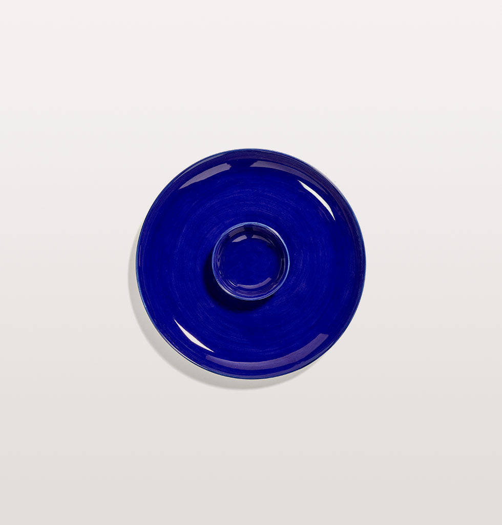 Ottolenghi x Serax. Lapis Lazuli extra small dish and medium plate. wagreen.co.uk