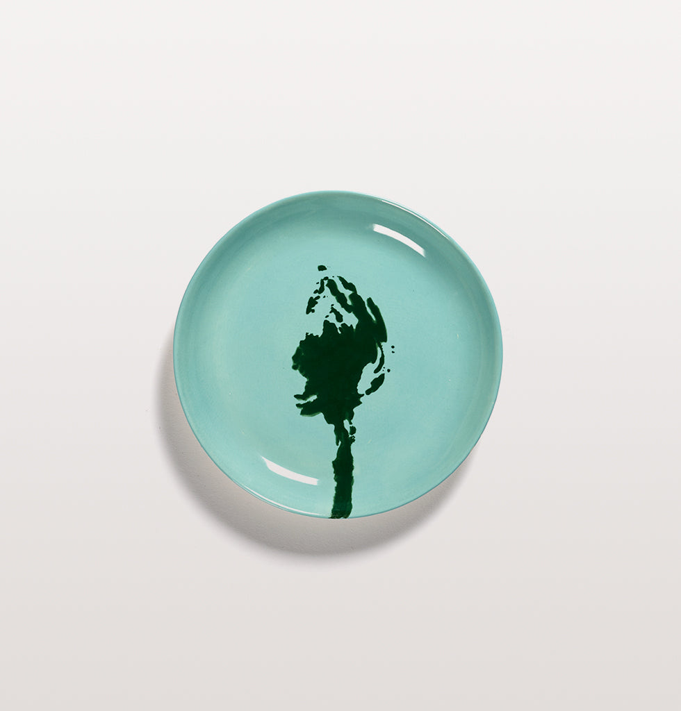 Ottolenghi x Serax. Azure and Artichoke Green extra small plate. £16 wagreen.co.uk