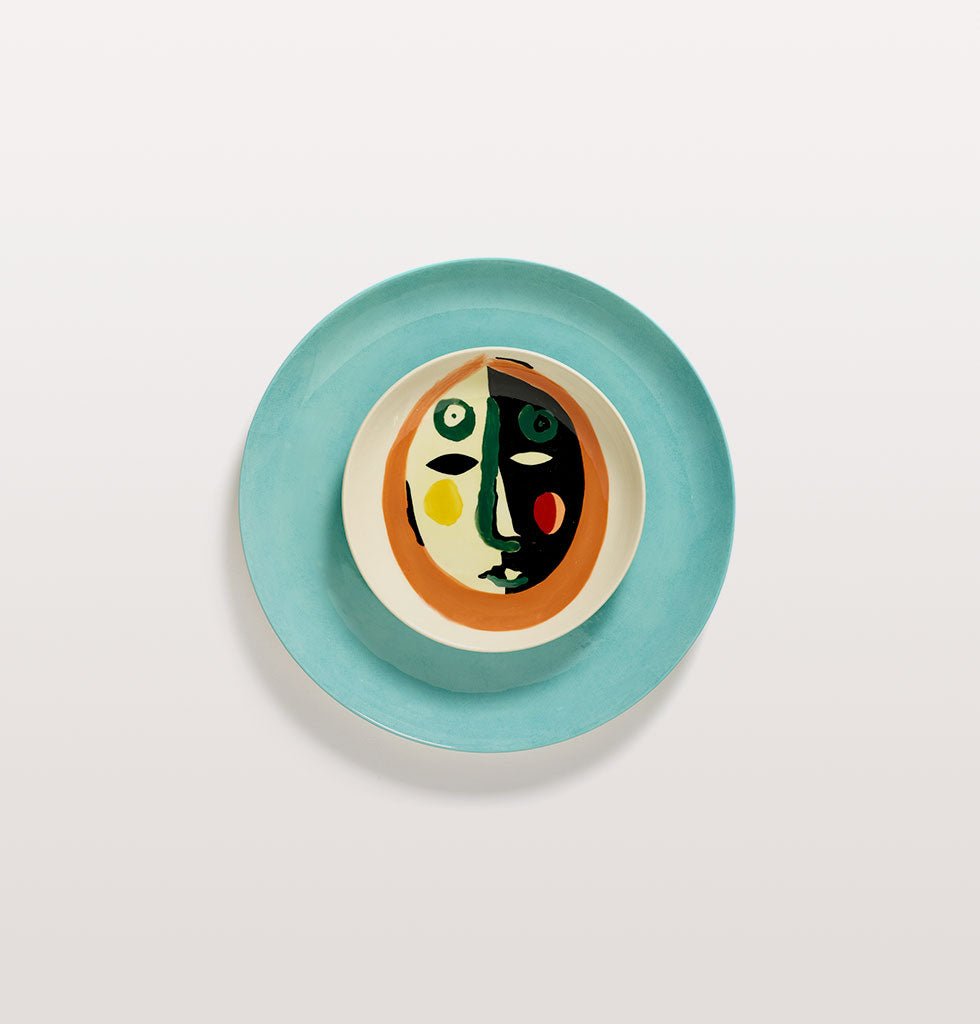 Ottolenghi x Serax. Face 1 extra small and Azure large plate. wagreen.co.uk