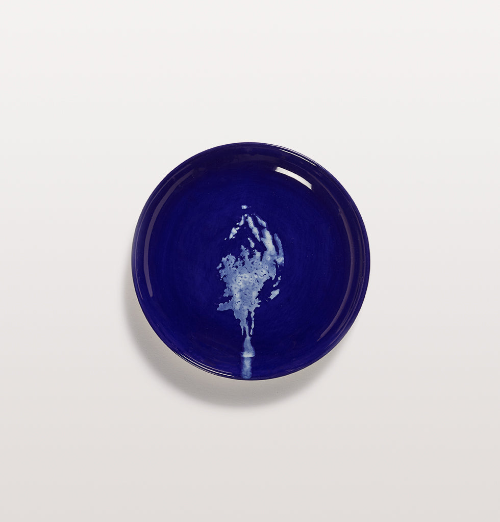 Ottolenghi x Serax. Lapis Lazuli and Artichoke White extra small plate. £16 wagreen.co.uk
