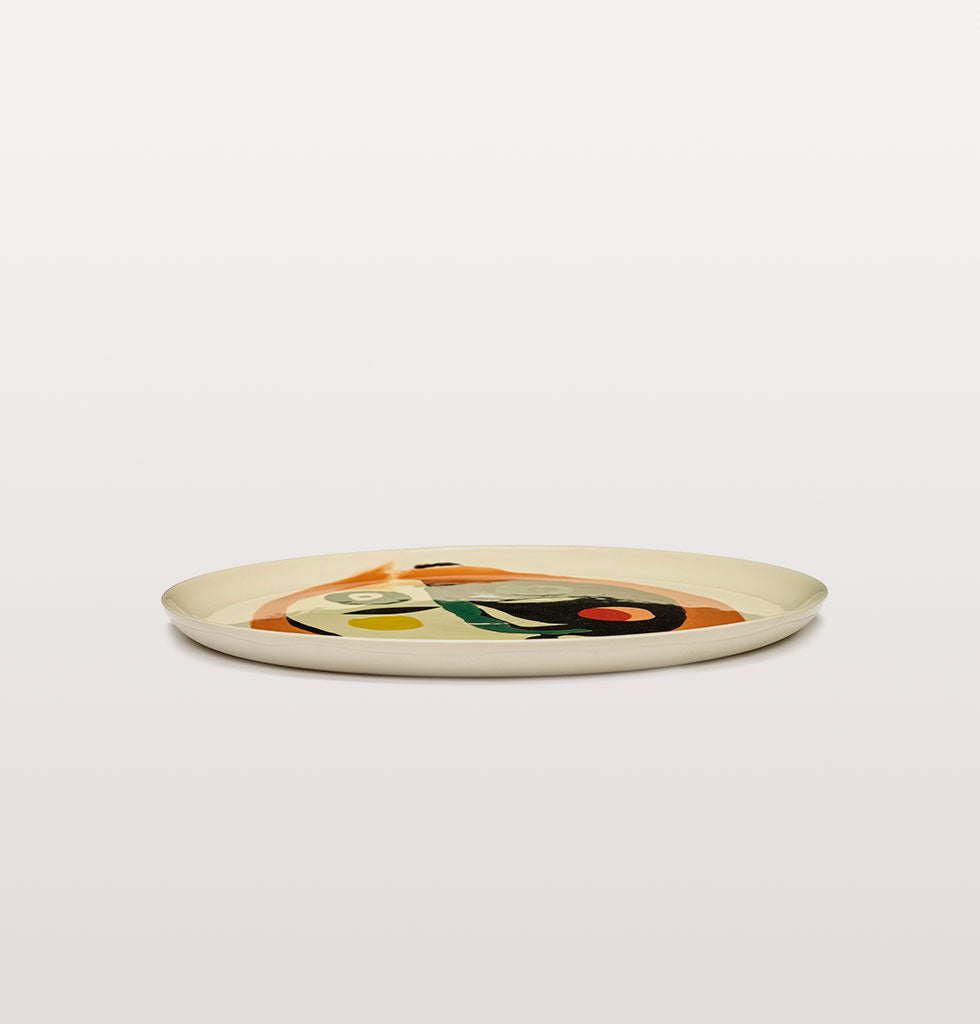 Ottolenghi x Serax. Face 1 serving plate side view. £67 wagreen.co.uk