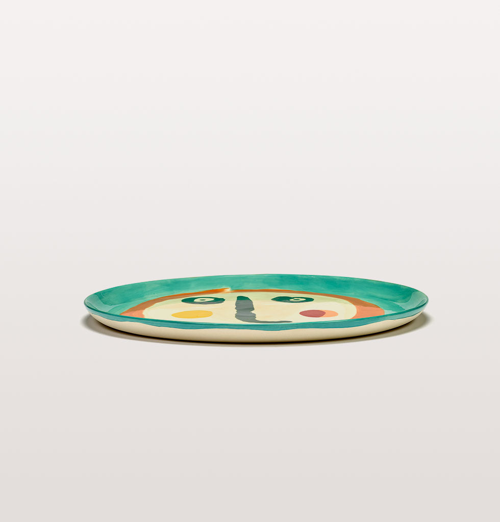 Ottolenghi x Serax. Face 2 serving plate side view. £67 wagreen.co.uk