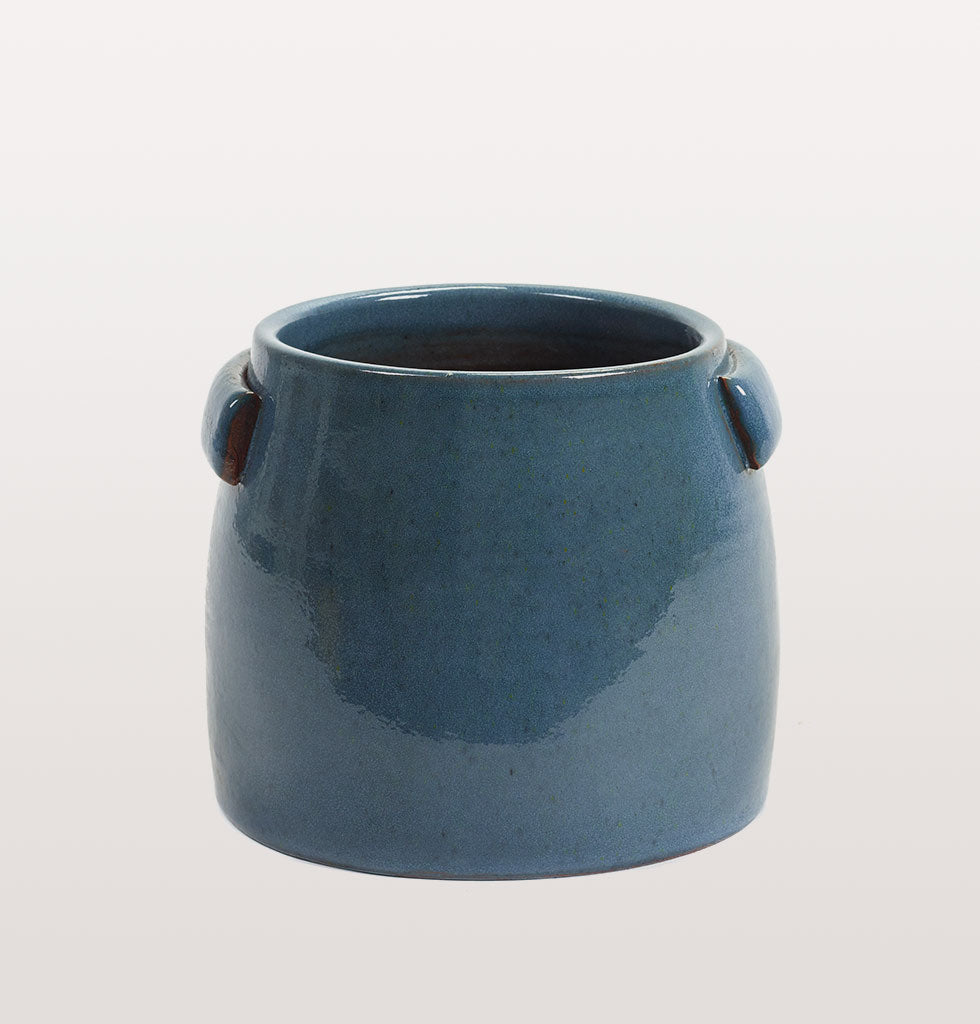 Serax tabor blue plant pot small. £47 wagreen.co.uk
