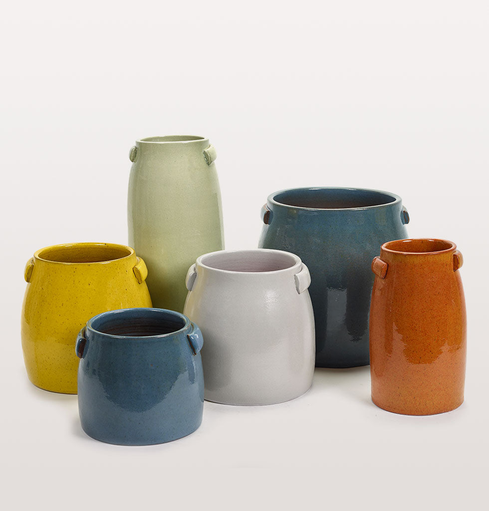 Serax tabor coloured plant pots. wagreen.co.uk