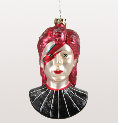 David Bowie Christmas Tree Decoration
