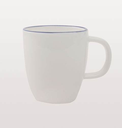 Blue line abbesses espresso coffee cup canvas home