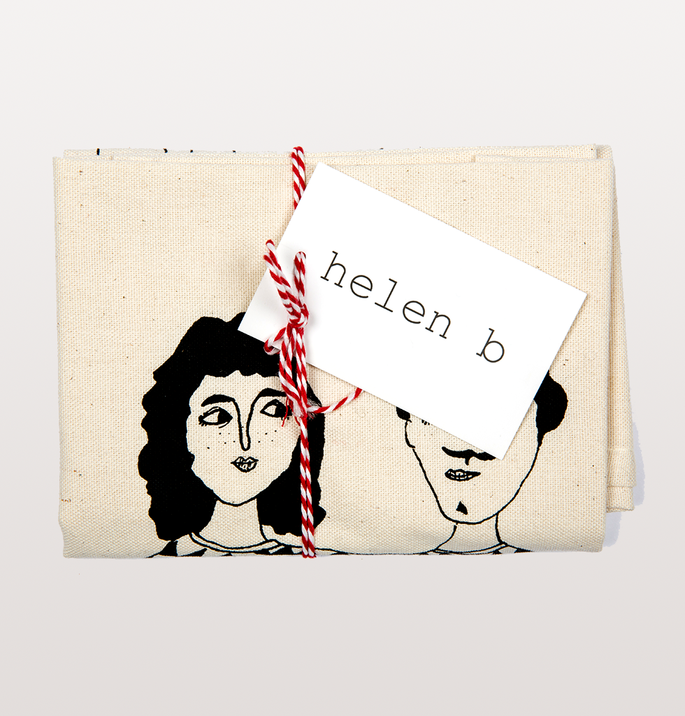 HAPPY TOGETHER TEA TOWEL