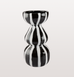 Lines black and white tall vase by DAY Birger et Mikkelsen