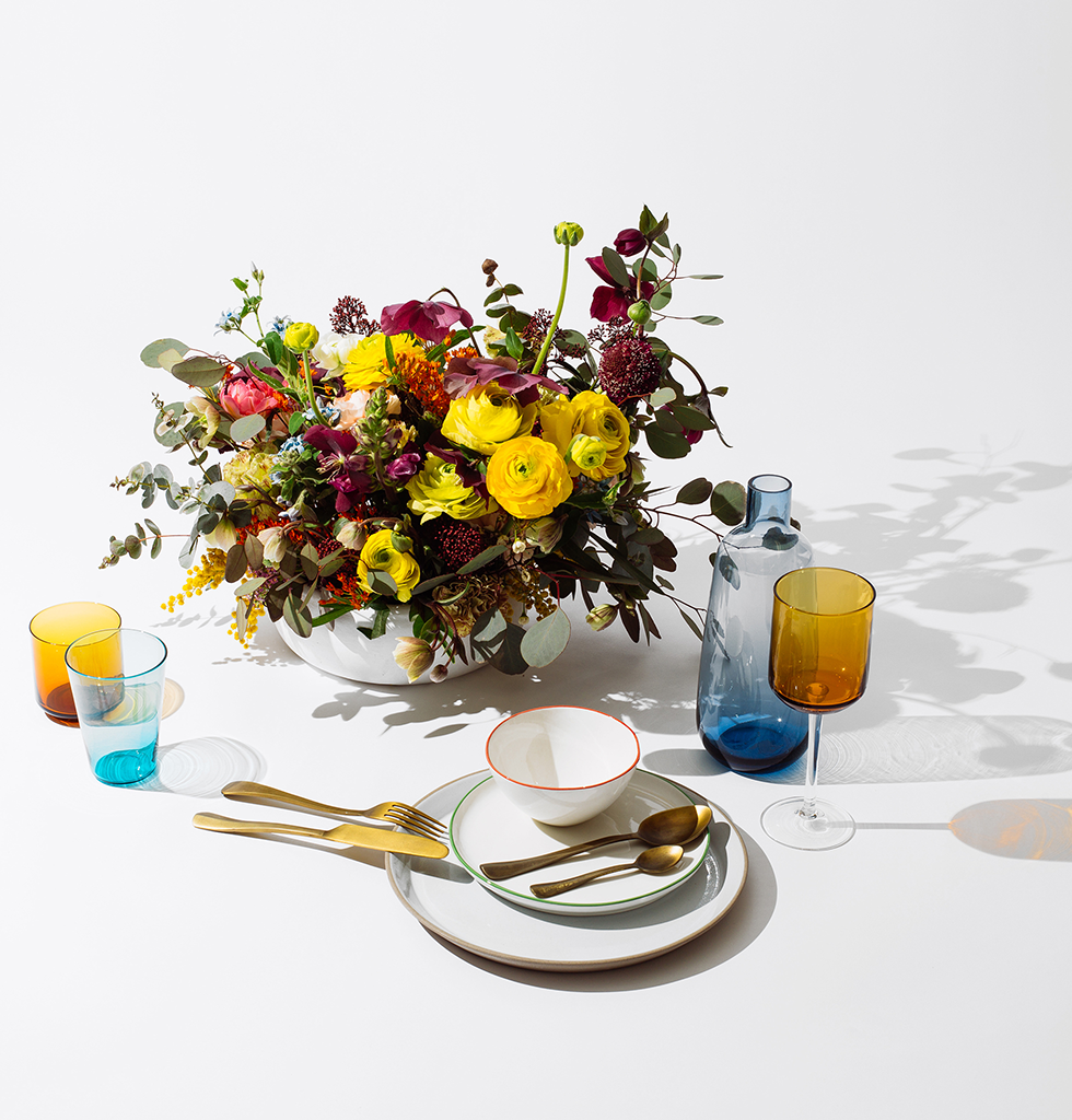 Abbesses tableware