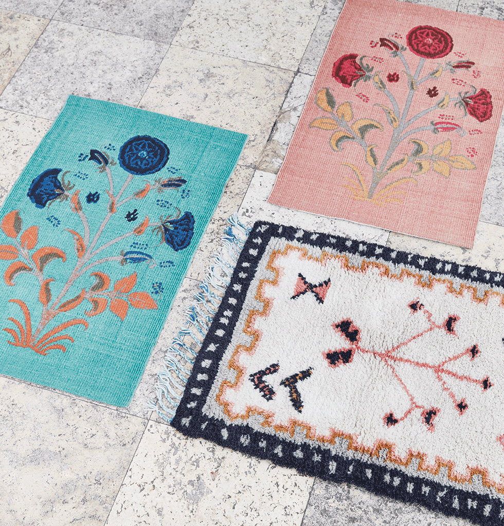 Floor small floor rugs floral