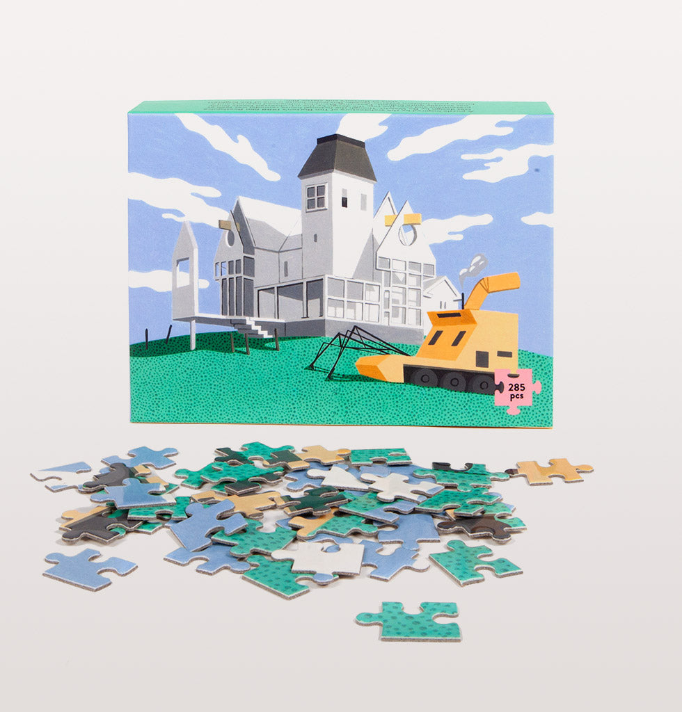 Slowdown Studio deetz house jigsaw. £30 wagreen.co.uk