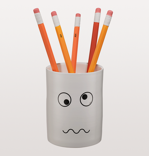 Anya Hindmarch Orange Ceramic Pencil Diffuser