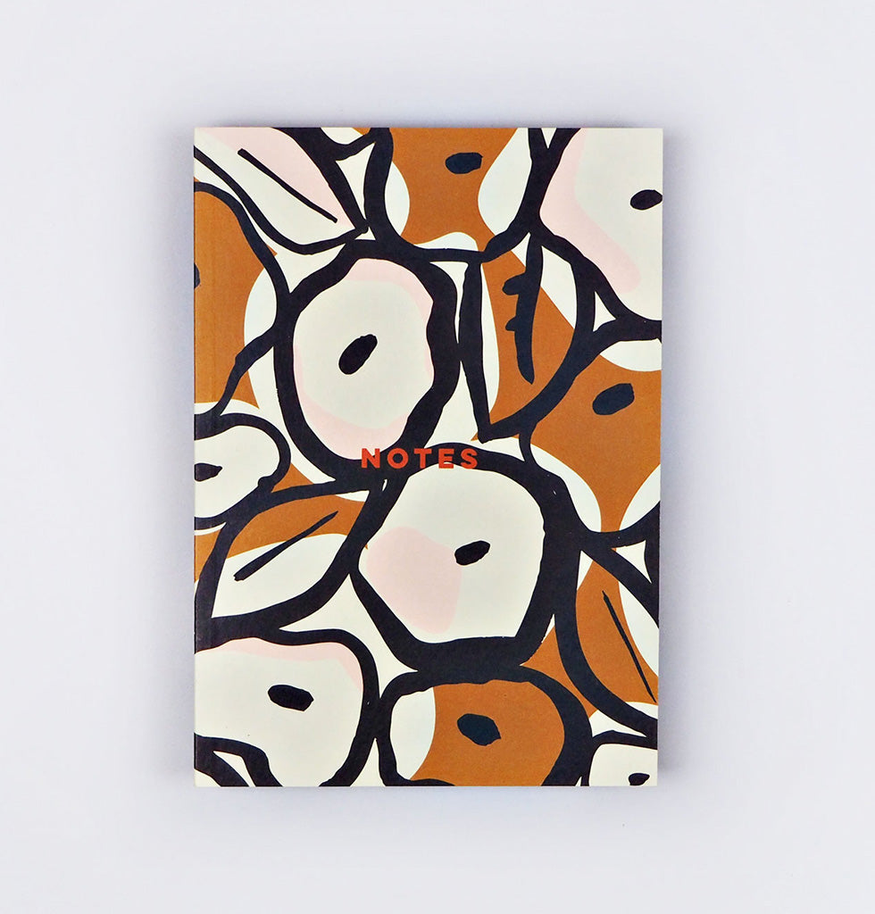A5 size note book sustainable stationery The Completist W.A.Green