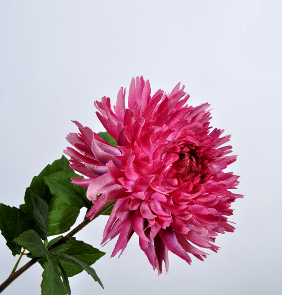 FAUX MAUVE GIANT CHRYSANTHEMUM STEM