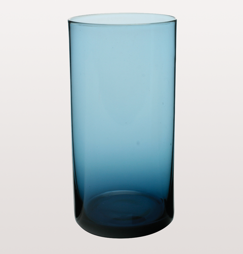 BLUE MARYCLARE COLLINS GLASS
