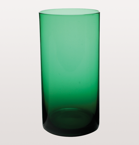 GREEN MARYCLARE COLLINS GLASS