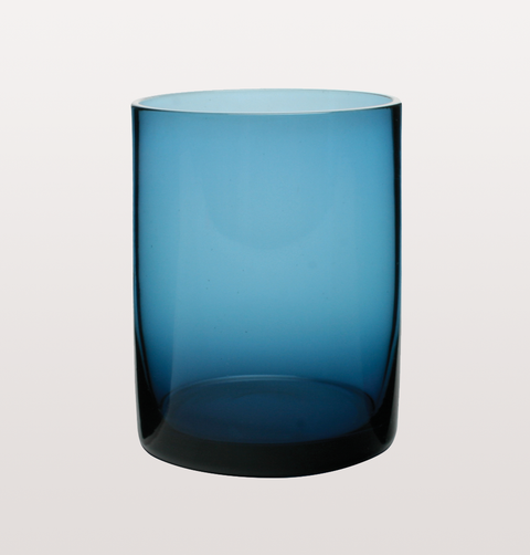 BLUE MARYCLARE TUMBLER GLASS