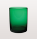 GREEN MARYCLARE TUMBLER GLASS