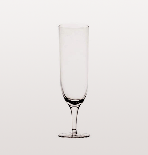 AMWELL CLEAR SHORT STEM CHAMPAGNE GLASS