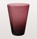 AMETHYST RED EAU MINERALE GLASS
