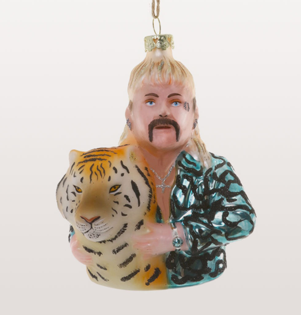 Celebrate Christmas 2020 with the iconic Tiger King. Joe Exotic, our lockdown saviour is here to give you cheeky reminder of this strangest of times for years to come.