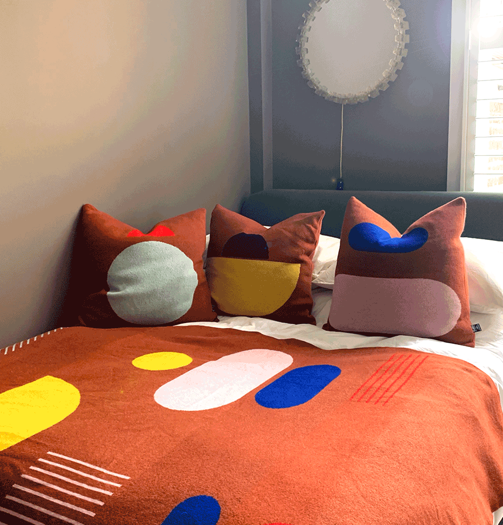Giannina Capitani Panton Cushions and Blanket