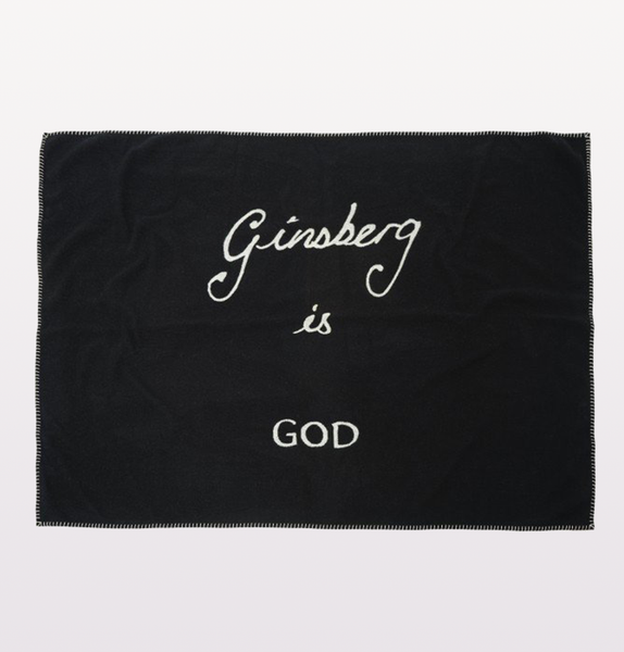 GINSBERG IS GOD BLANKET