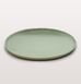 IST London, main plate Mint green Limoges porcelain tableware, handmade slip cast plate dinnerware
