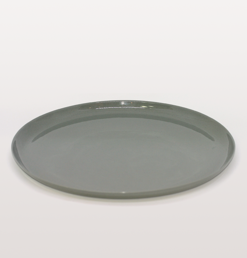 CLOUD GREY DINNER PLATE