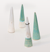 CERAMIC WHITE RING CONE by ATELIER STELLA
