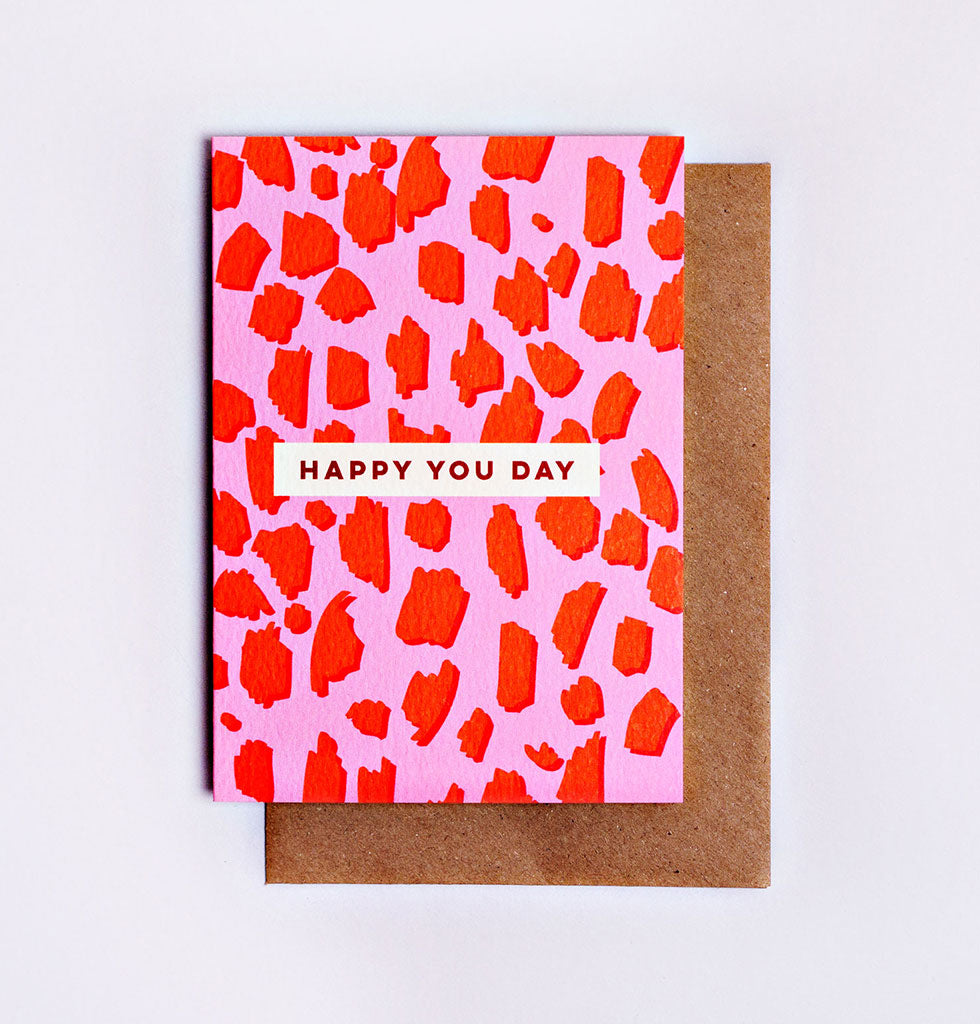 Happy You Day Birthday Card The Completist W.A.Green