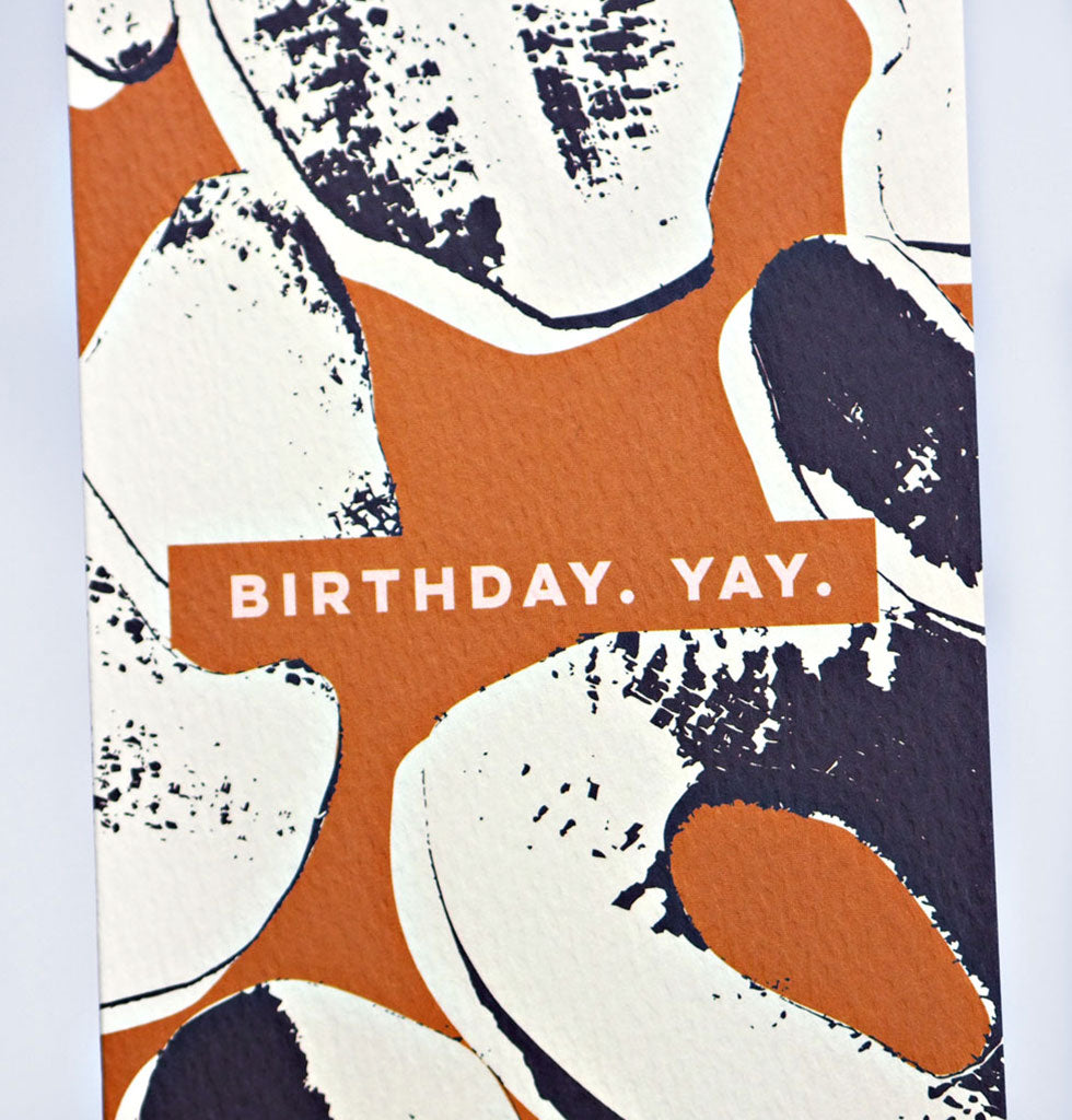 BIRTHDAY YAY! CARD
