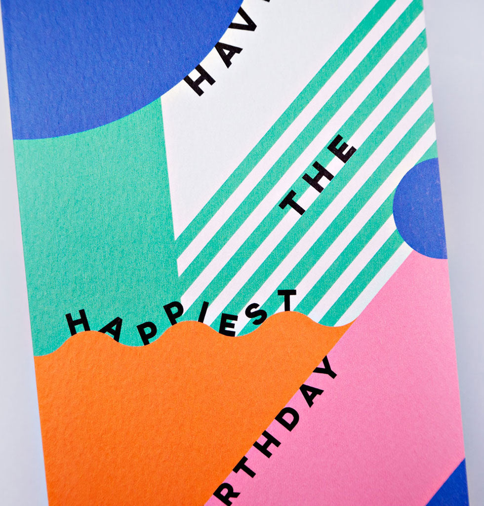 The Completist HAVE THE HAPPIEST BIRTHDAY card. £3.50 wagreen.co.uk