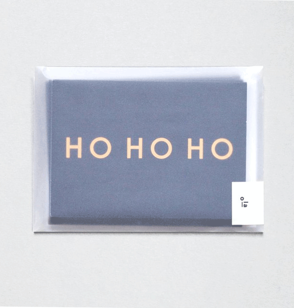 HO HO HO 6 CARD PACK by OLA STUDIO